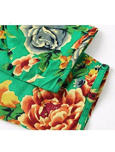 MatchLife - Vestido - vestido - para mujer - Style2-Green