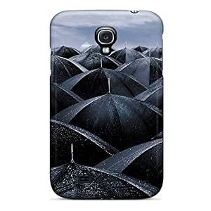 New Fashionable VMoore SYo4745SkLw Cover Case Specially Made For Galaxy S4(umbrellas)