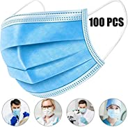 [Spot Goods] 100 PCS Disposable Filter Mask 3 Ply Earloop Medical Dental Surgical Hypoallergenic Breathability Comfort Breat