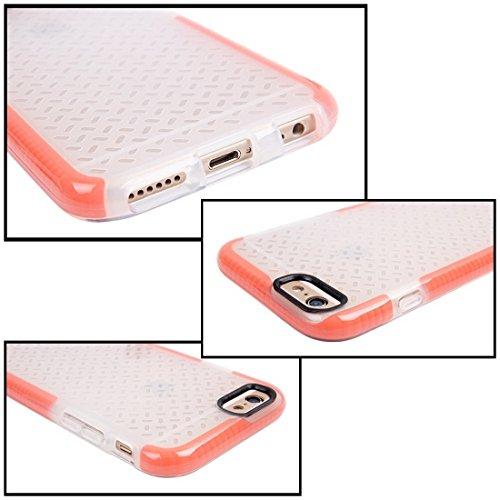 Phone Taschen & Schalen Für iPhone 6 Plus & 6s Plus Reiskorn Pattern TPU Schutzhülle ( Color : Orange )