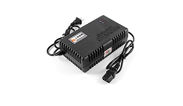 US-enchufe-cable principal de alimentaci/ón DealMux el/éctrico para-cargador de 48 V 10-14AH