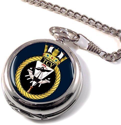 HM Depósito de buques de limpieza (Royal Navy) Full Hunter reloj de bolsillo: Amazon.es: Relojes