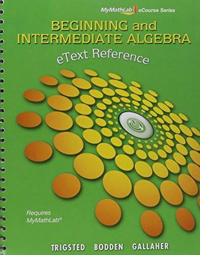 MyLab Math for Beginning & Intermediate Algebra --Access Card-- PLUS eText Reference