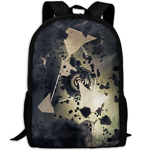 Abstract Sci Fis Interest Print Custom Unique Casual Backpack School Bag Travel Daypack - Sunglasses Sci