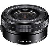 Sony SELP1650 16-50mm Power Zoom Lens (Black, Bulk Packaging) - International Version (No Warranty)