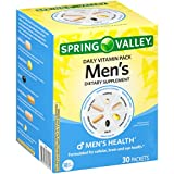 Spring Valley Men's Daily Vitamin Pack Dietary Supplement 30 ct Box