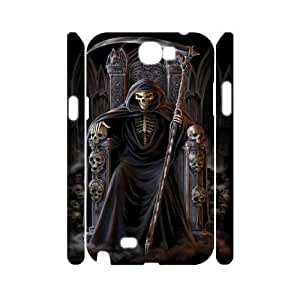 C-EUR Grim Reaper Customized Hard 3D Case For Samsung Galaxy Note 2 N7100