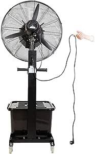 Ventilador de pie oscilante con nebulizador de agua/Ventiladores ...