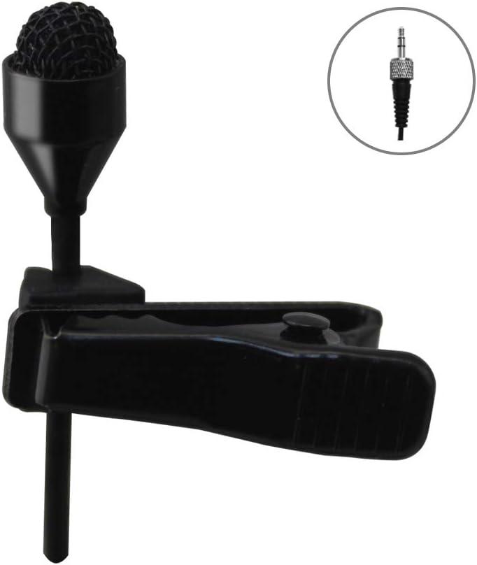 Professional Micrófono De Solapa JK® MIC-J 044 Para Sennheiser Transmisor Inalámbrico - Omni Lavalier Micrófono De Condensador