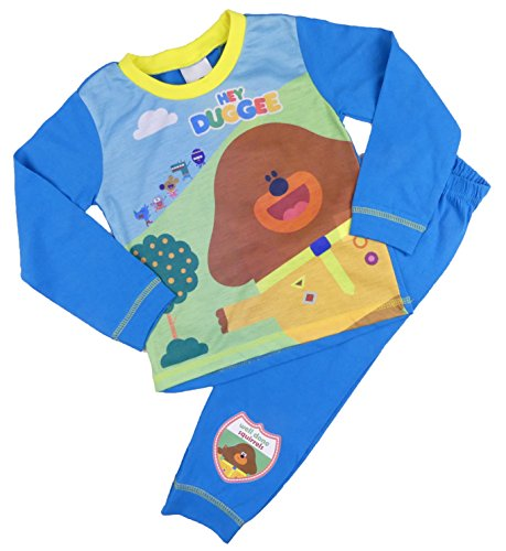 Boys And Girls Hey Duggee Pyjamas Sleepwear Two Styles 18-24M To 4-5Y (2-3 Years, Blue)