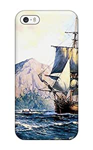 Mary P. Sanders's Shop New Style Iphone 5/5s Ship Print High Quality Tpu Gel Frame Case Cover 9794825K85824201