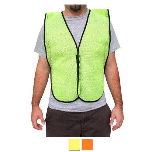 Rugged Blue RB Mesh Fabric Economy Non-ANSI Safety Vest, Reg