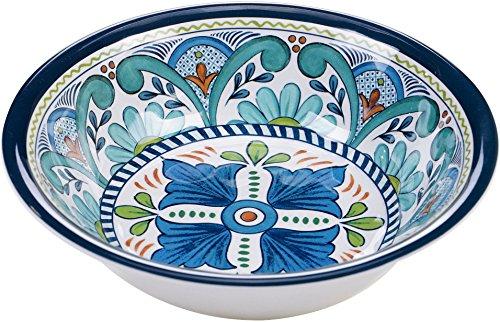 Certified International Talavera All Purpose Bowl One Size Blue/white