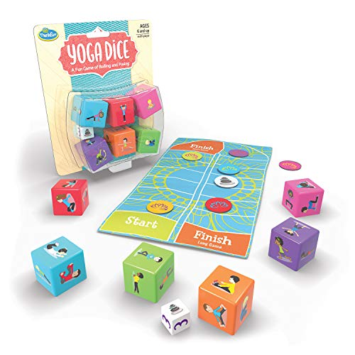 ThinkFun Yoga Dice Game for Boys and Girls Ages 6 and Up - Learn Yoga With a Game -