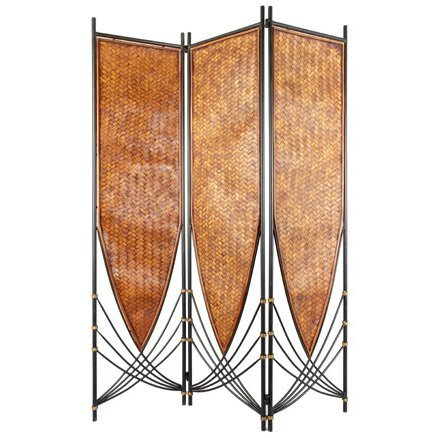 - Oriental Furniture 6 ft. Tall Tropical Philippine Room Divider