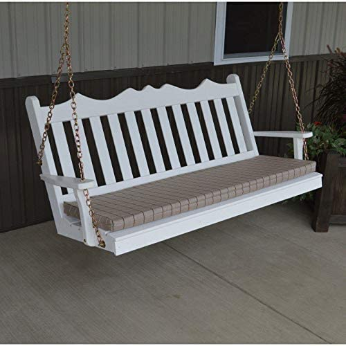 A L Furniture Royal English Yellow Pine 4ft. Porch Swing