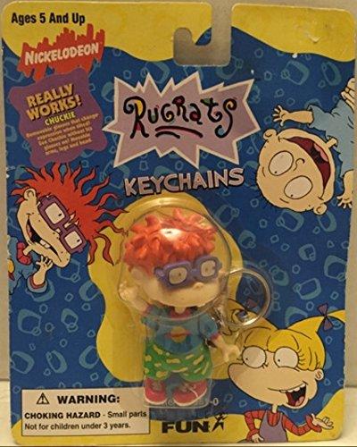 Nickelodeon Keychain (Nickelodeon Rugrats Keychain - Chuckie)