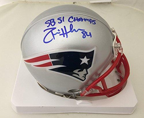 Donta Hightower Autographed Patriots Super Bowl 51 Li Signed Football Mini Helmet 3