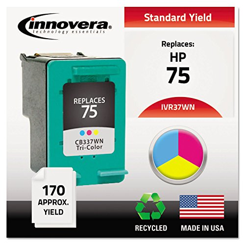 Innovera 37WN Compatible, Remanufactured, CB337WN (75) Ink, 170 Page-Yield, Tri-Color ()