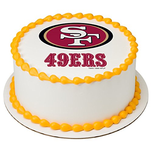 San Sugar Francisco 49ers - NFL San Francisco Licensed Edible 8