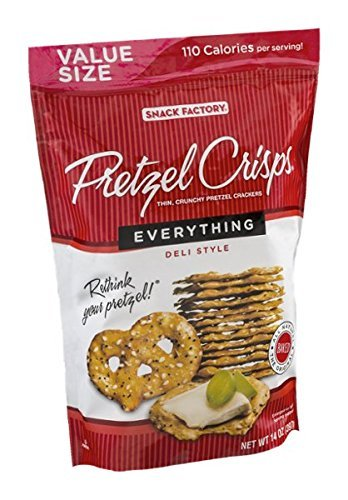 Snack Factory Pretzel Crisps - Everything - 14 oz by Snack Factory (Image #2)
