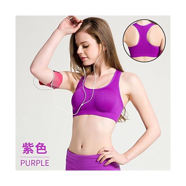 278d670f85b32d Teenage fun Sport-BHS für Damen Fitness Sommer Atmungsaktiv BH Mädchen  Läuft die Anti-