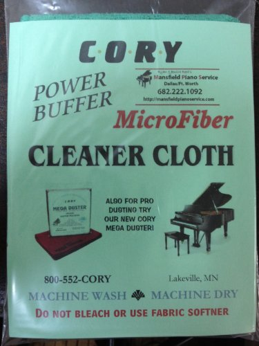 Microfiber Piano Cleaning Cloth - Distributed