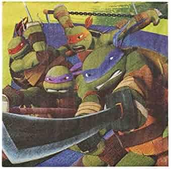 Teenage Mutant Ninja Turtles Lunch Napkins (16-Pack).