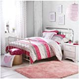 Better Homes and Gardens Kelsey Metal Bed, Twin – White | Durable Metal Frame Bed ,White – Twin