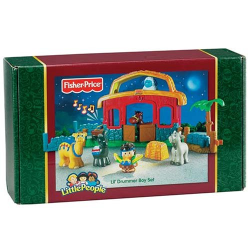 Fisher Price Little People Lil' Drummer Boy Playset