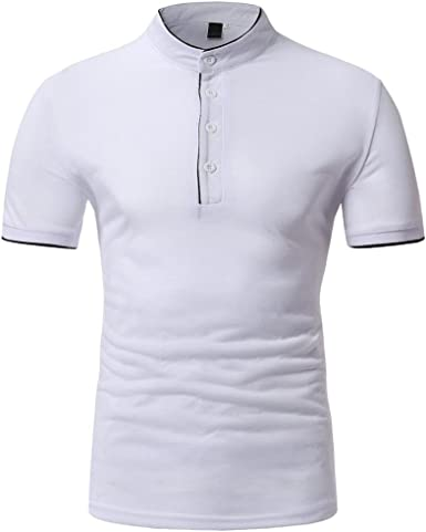 Camiseta para Hombre, Hombres Verano Casual O Cuello Manga Corta ...
