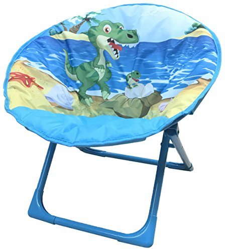 Yummy Cooky Moon, Lounge Chair For Toddlers and Kids, Lightweight Foldable Kids Saucer Chair