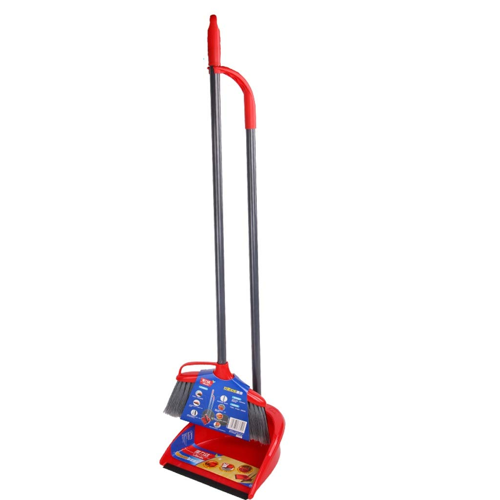 Lsxlsd Dustpan And Brush Long Handle Broom AndDustpan Household Cleaning Tools Dustpan And Brush Set With Stiff Bristle BroomHousehold Cleaning Tools by Lsxlsd