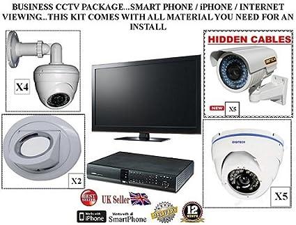 TC41 - BUSINESS CCTV DE 16 CANALES H, 264 EL PAQUETE 2 TB DVR Y
