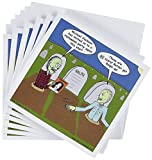 3dRose Halloween - Zombies, Michael Jacksons Party - Greeting Cards, 6 x 6', Set of 6 (gc_3804_1)