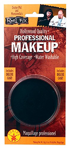 Rubie's Women's Reel FX Professional Makeup, Black, One -