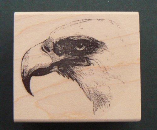 Eagle rubber stamp WM 1.5x1.75