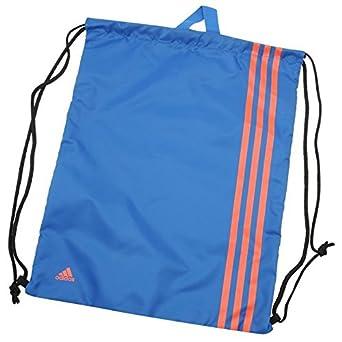 55233319032a adidas Unisex 3 Stripe Gymsack Sports Gym Bag Sack Case Holdall Caryall  BlueBeauty Red One Size  Amazon.co.uk  Clothing