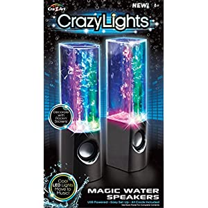 Dancing Water Speakers (Colors May Vary)