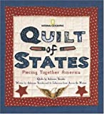 img - for Quilt of States: Piecing Together America by Adrienne Yorinks (2005-10-11) book / textbook / text book