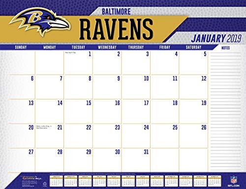 Paper Baltimore Ravens (Turner Licensing Baltimore Ravens 2019 Desk Calendar (19998061528))
