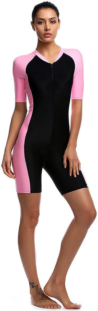 Traje de ba/ño para mujer para deportes acu/áticos para con protecci/ón UV.