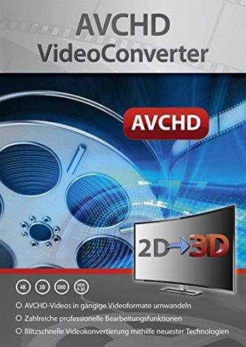 AVCHD Video Converter - Umwandlung, Bearbeitung, Konvertierung für über 50 Formate in jedes beliebige Video und Audio Format - gutes Programm zur Unterstützung beim Video Schnitt - für Windows 10 / 8.1 / 8 / 7
