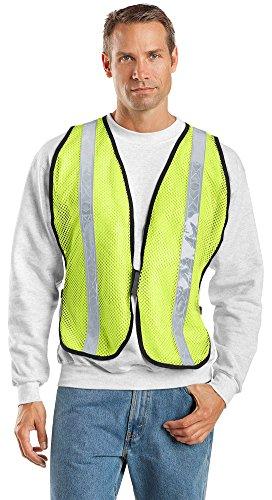 (Port Authority Mesh Enhanced Visibility Vest, Safety Yellow, Small / Medium)