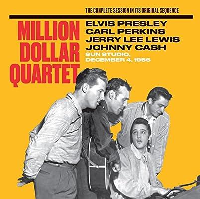 Amazon   Million Dollar Quartet   Presley, Elvis, Carl Perkins, Jerry Lee  Lewis, Johnny Cash   輸入盤   音楽