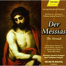 handel messiah arranged by w a mozart donna brown mp3 downloads. Black Bedroom Furniture Sets. Home Design Ideas