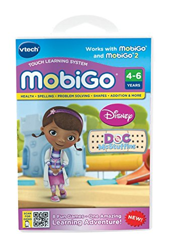 - VTech MobiGo Software Cartridge - Doc McStuffins