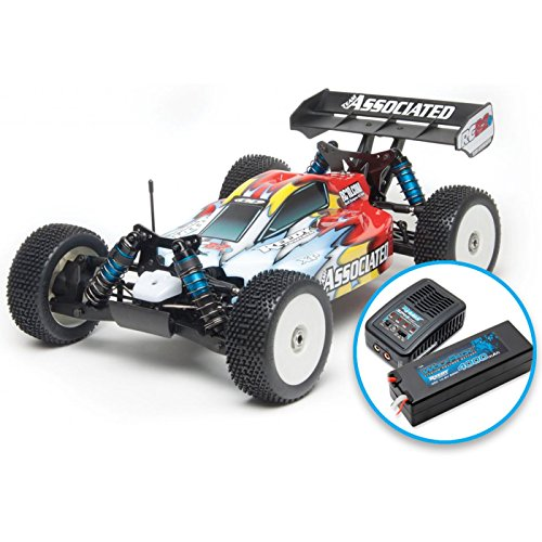Team Associated Radio Control 80908C RC8.2E 1/8 Brushless 4WD Buggy Ready to Run Combo Buggy