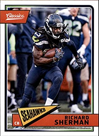 2018 Classics Football  88 Richard Sherman Seattle Seahawks Panini NFL Card b928ebdd3