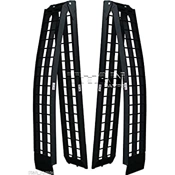 Loading Capacity Mad Dog 8 Arched Folding Ramps Set Sold as Pair 1250 lb